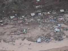 Imagen aérea de Fiyi tras el ciclón
