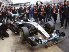 El nuevo Mercedes de Hamilton