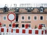 Albergue de refugiados incendiado en Alemania