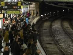 Usuarios de Metro de Barcelona.