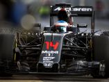 Alonso, a los mandos del McLaren MP4-31