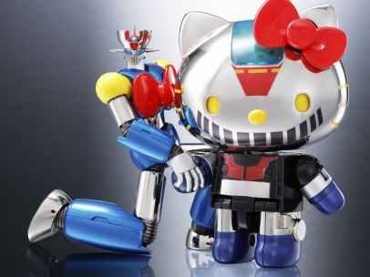 Hello Kitty y Mazinger Z