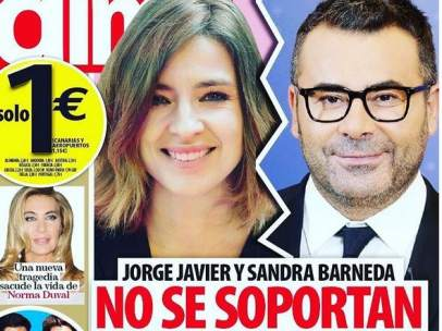 Sandra Barneda contesta a la revista 'Dime'.
