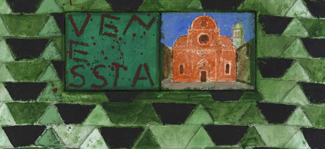 Joe Tilson, The Stones of Venice I Carmini, Venessia, 2014