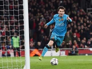 Gol de Messi al Arsenal