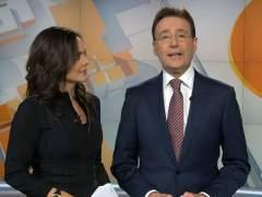 Mónica Carrillo y Matías Prats