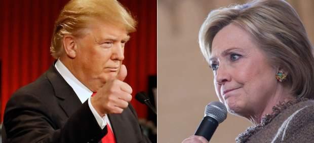 Donald Trump ya está a solo cuatro puntos de Hillary Clinton en las encuestas