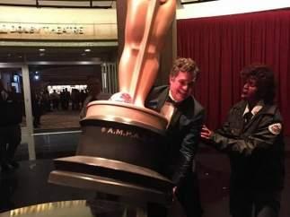 Con el Oscar a cuestas