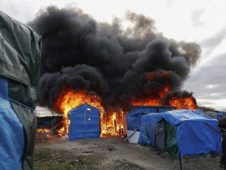 Refugios en llamas