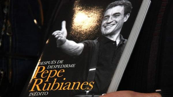 Portada del libro 'Después de despedirme. Pepe Rubianes inédito'