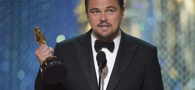 Leonardo DiCaprio, Óscar al mejor actor por 'The Revenant'