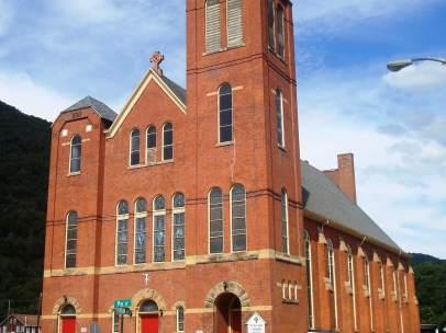 Una iglesia católica de Pensilvania