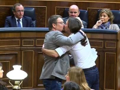 Beso parlamentario