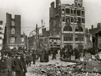 Sackville St ruins, 1916