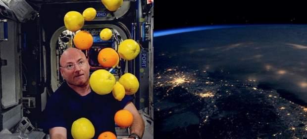 El hombre que nos dejó sin habla y revolucionó la redes sociales a 400 kilómetros de la Tierra