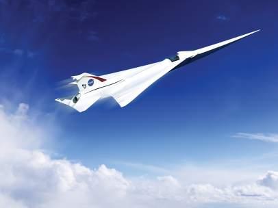 Aeronave supersónica de la NASA