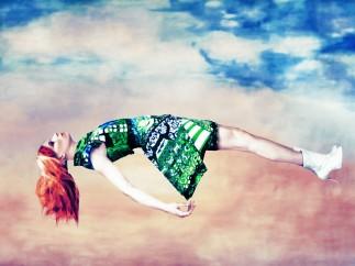 """Image of Mary Katrantzou's """"Expandit"""" dress, 2012, Erik Madigan Heck"""