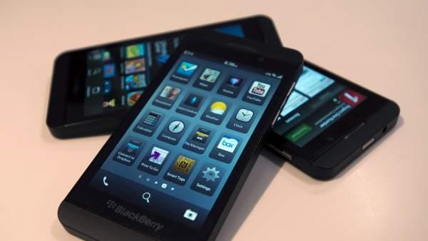 Dispositivos Blackberry