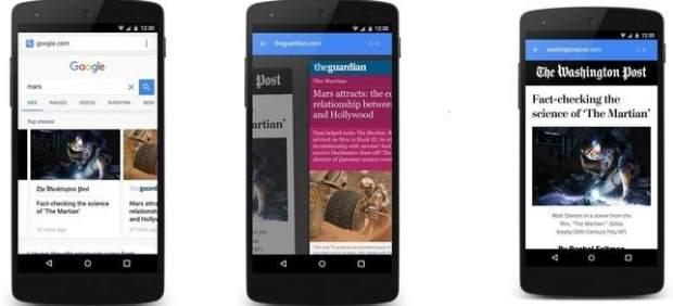 Tecnología AMP de Google