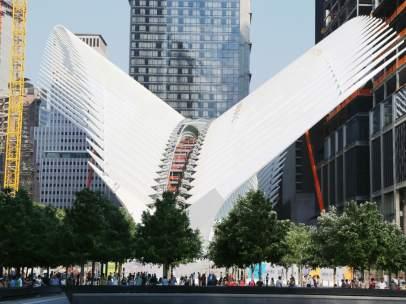La nueva estación del World Trade Center, obra de Calatrava