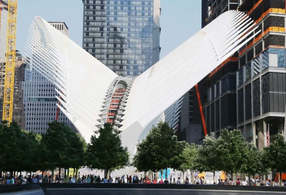 Calatrava Inaugura Quot Orgulloso Quot La Estaci 243 N Del World Trade