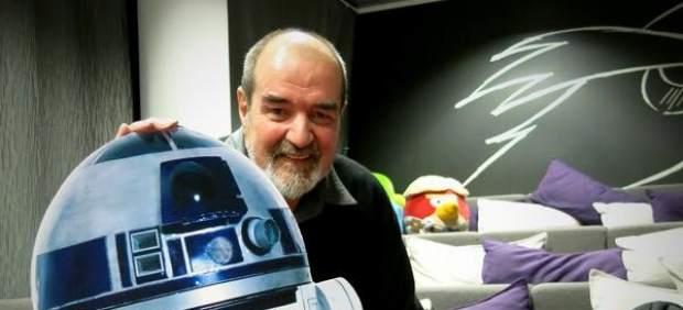 Tony Dyson and R2-D2