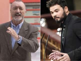 Arturo Pérez Reverte y Gabriel Rufián