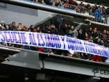Pancarta contra Florentino