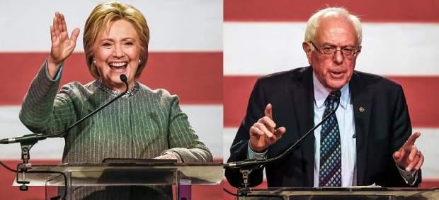 Sanders vence ante Clinton mientras Trump y Cruz ganan dos estados en el 'supersábado'