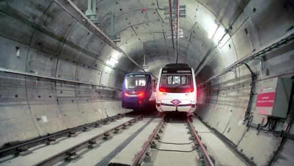 Trenes de Metro de Madrid