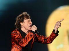 Jagger, dándolo todo en el escenario