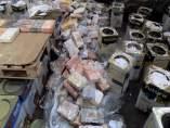 Alijo de cocaína intervenido a una red de cibernarcos