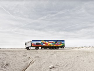 Truck Art Project - Okuda San Miguel