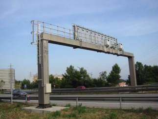 Un radar de tráfico
