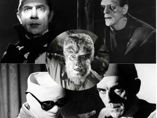 Los monstruos de Universal