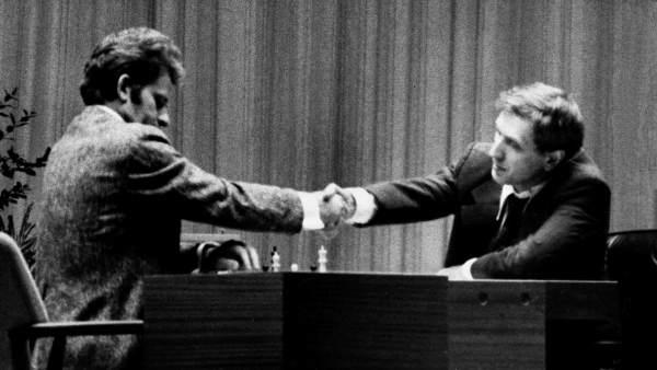 Bobby Fischer y Boris Spassky