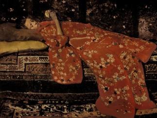 The Red Kimono, 1896, George Hendrik Breitner