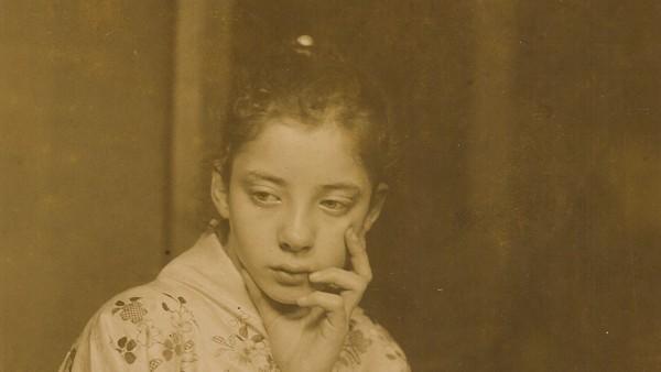 G.H. Breitner, Geesje Kwak in Japanse kimono, 1893-1895