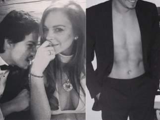 El novio de Lindsay Lohan
