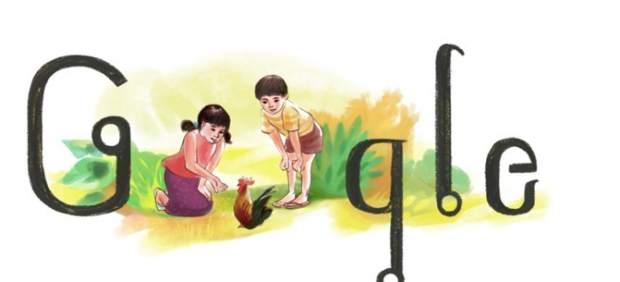 Google dedica un 'doodle' al 85º aniversario del nacimiento de Ratchanee Sripaiwan