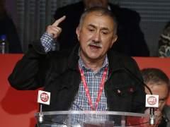 """Álvarez, líder de UGT: """"¿La hucha de las pensiones? Se hizo para gastarla, para que suba y baje"""""""