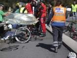 Atropello de ciclistas en A Guarda