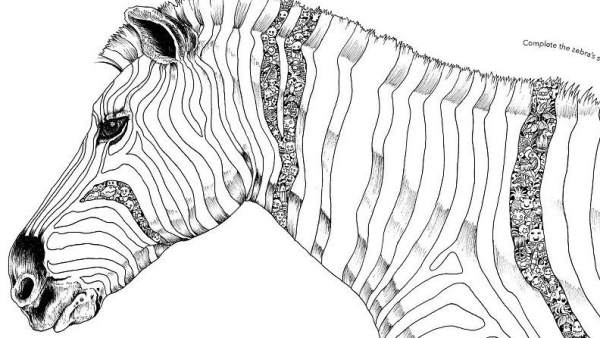 La nueva moda contra el estrés: rellenar estos dibujos
