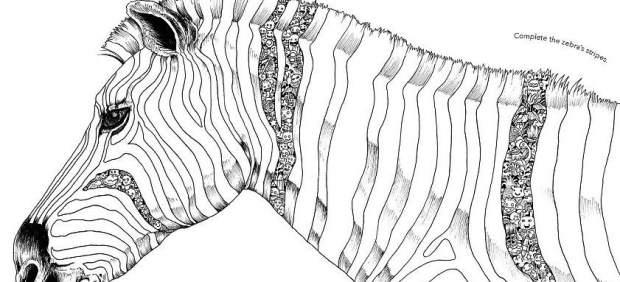 La nueva moda para relajarse: rellenar huecos con dibujos
