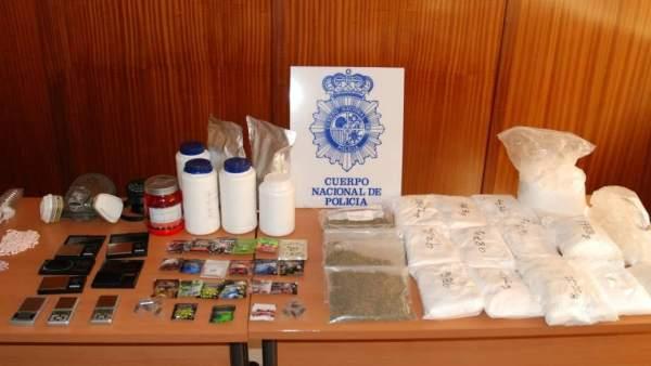 "Laboratorio de ""drogas legales"""