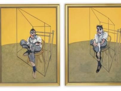 Tres estudios de Lucian Freud'