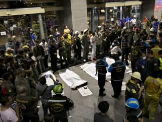 Accidente en Tailandia