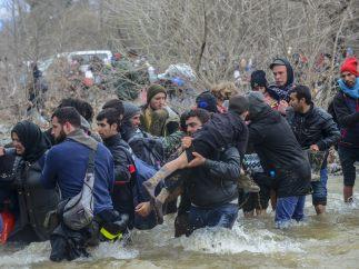 Torrente mortal en Macedonia