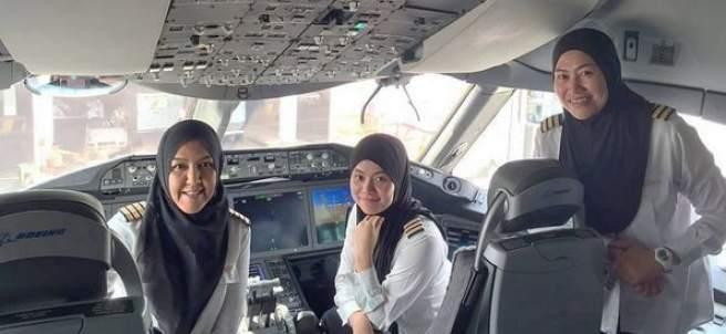Mujeres piloto en Arabia Saudí