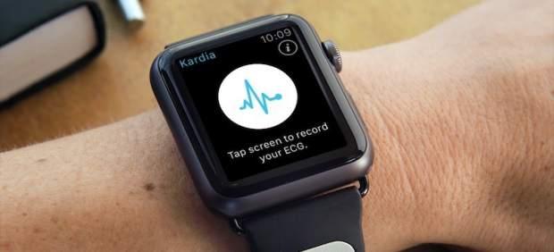 Una correa de Apple Watch puede avisar de problemas del corazón